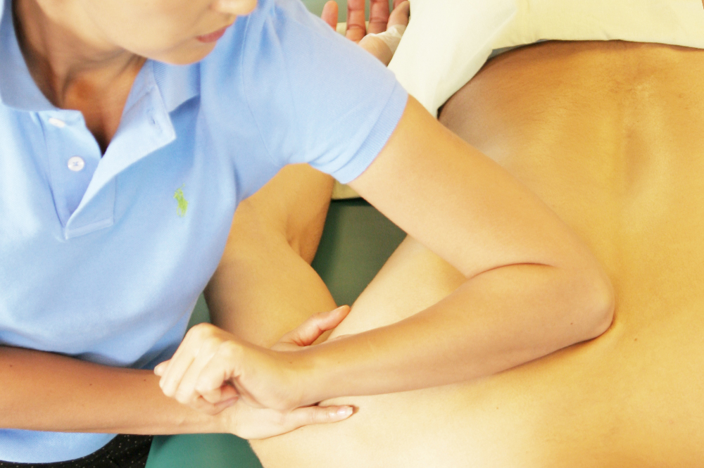 MASSAGE SERVICES-USING DEEP TISSUE METHOD